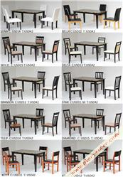 FAUX MARBLE SERIES DINING SET